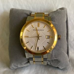 Ladies' Two-Tone Burberry Watch